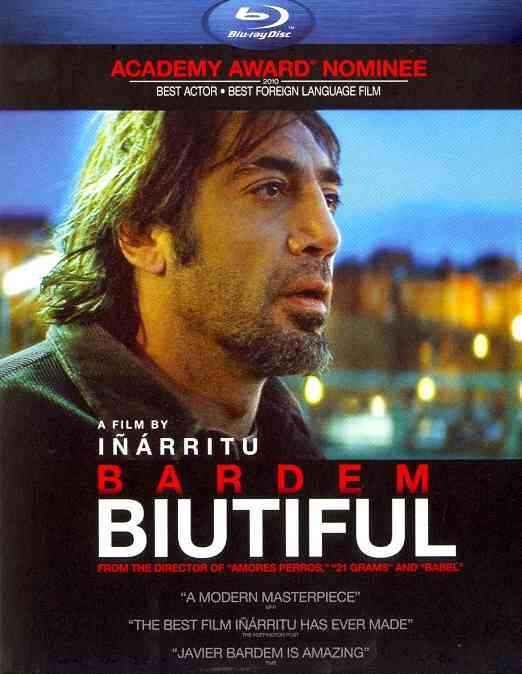 BIUTIFUL BY BARDEM,JAVIER (Blu-Ray)